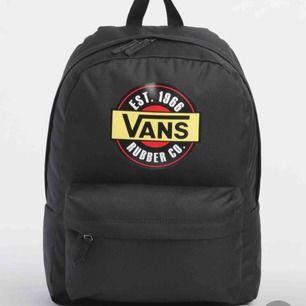 En skitsnygg ryggsäck från vans, säljer pga kommer inte till användning
