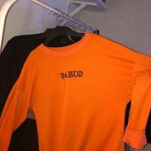 Kanye West Life of Pablo långärmad tröja! Skitball orange, väldigt fint skick:) flera intresserade så skriv!