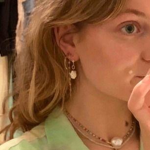 Pärlörhängen köpta i Tyskland för 20 euro, 50%! Frakt är inräknat i priset