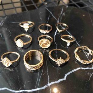 Nya ringar, 150 för alla eller 20-30kr beroende på hur många du köper!