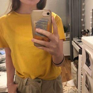 vanlig gul tshirt från zara! sparsamt använd :)