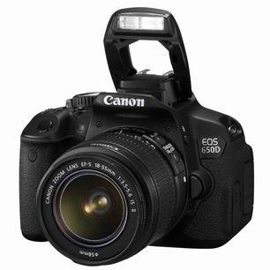 Intressekoll!! Canon eos 650d med 2 objektiv! 18-55 & 50-300. 3 olika linser för olika ljus & en automat avklickare.