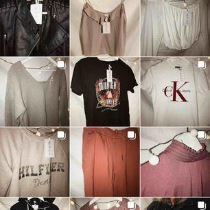 SE HIT! Massa BILLIGA kläder på instagram @relincouf !!!  Du kan både lämna kläder och köpa second hand.