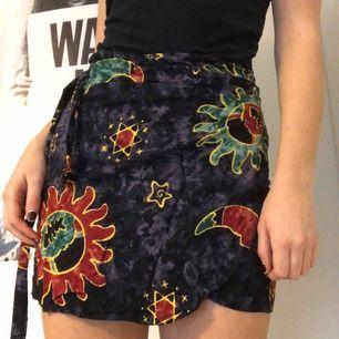 Vintage wrap-kjol 🌞 Superskön och superbra skick! 🌙