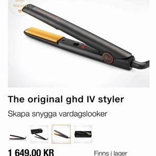GHD mini styler endast använd ett fåtal gånger funkar perfekt för bara 800 kr ordinarie pris 1899 kr på GHDs hemsida