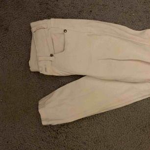 Supersnygga vita tights jeans från drdenim. Lågmidjade:) endast använda 1 gång!  LEXY 199
