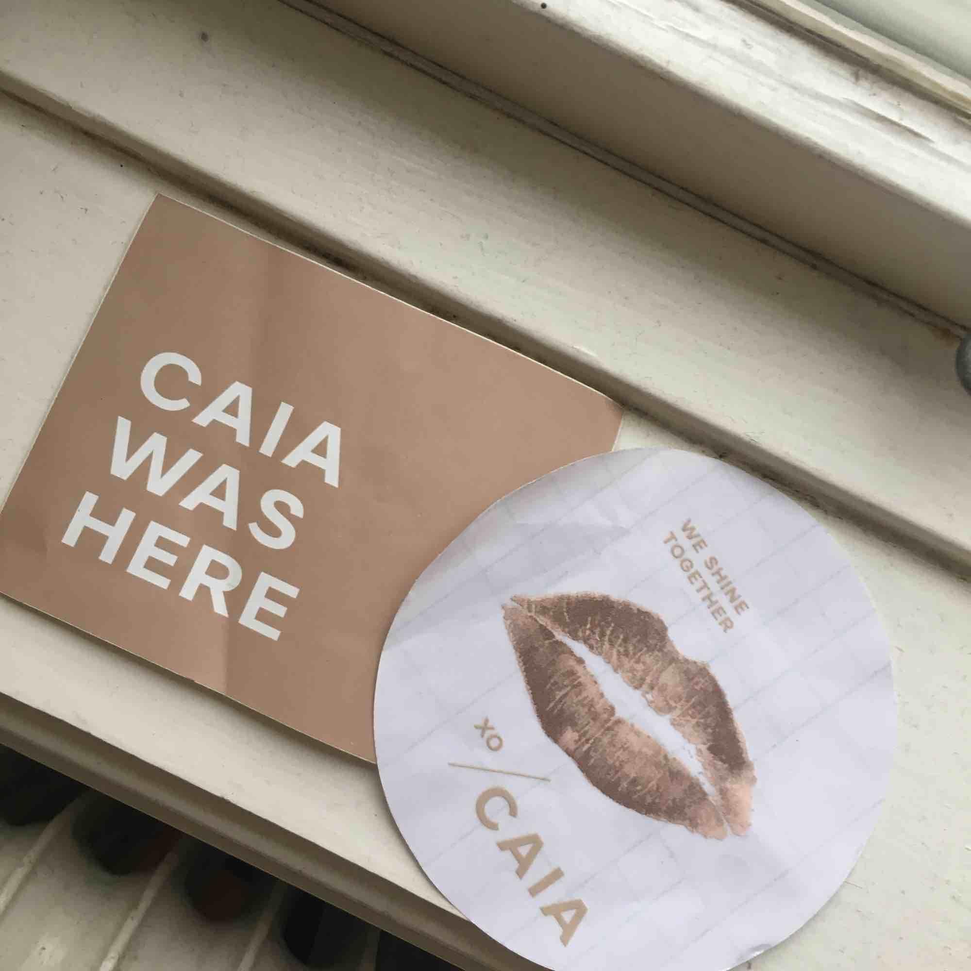 Snygga klistermärken från CAIA!!🥰🥰🥰båda för 50kr eller en för 30kr😜🌈🙏🎸. Accessoarer.