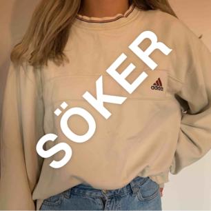 Hej! Söker en sådan sweatshirt, vet någon vart jag kan köpa en? Eller Om du har en och vill sälja kontakta gärna mig 😊