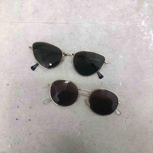 Solglasögon från NA-KD & Gina tricot, frakt 36:-