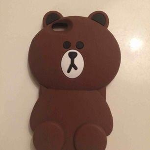 Mobilska i gummi föreställande en björn. Passar Iphone 5s