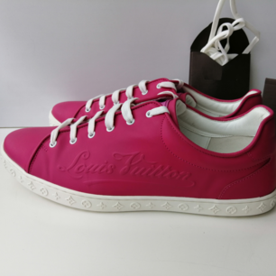 Louis Vuitton Charleston sneakers, excellent condition, worn a few times, original box, size 38.5, insole 25.5cm, Leather, Pink, 100% authentic 😊 delivery to USA, Canada, Australia No return, sorry
