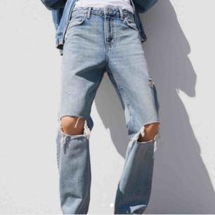 Har dessa jeans i strl 36 men vill gärna byta mot en 34 då de är för stora på mig!! Skriv gärna om ni är villiga att byta