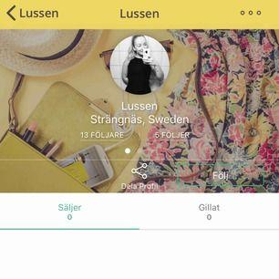 Varning för scammer!! Hon lurar folk på pengar, hon har flera profiler så se upp för konton där det står att de bor i Strängnäs.