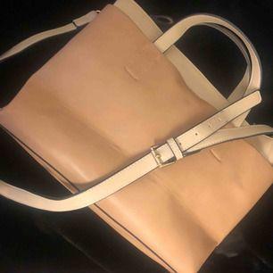 Väska från Zara i fina färger och lagom stor för att få det mesta men inte så stor ändå.