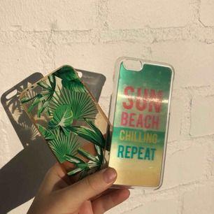 iPhone 6 skal, som jag personligen älskade men har annan mobil nu! 50kr/var. Den till höger är 3D! Fler skal finns i andra annonser! Vid köp av minst tre, bjuder jag på frakten! :))