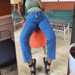 säljer mina älskade Taiki Jeans 🥰  Jeans i rak modell, älskar färgen & tvätten - de passar till allt möjligt, de är som helt nya  säljer pga är i nöd av pengar :( ord.pris 400:-