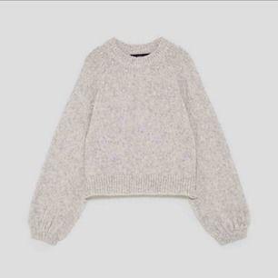 Frakt ingår! Superfin stickad tröja med pärlor på från zara!😊