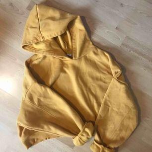 Cropped hoodie från fashion nova i storlek L, knappt använd