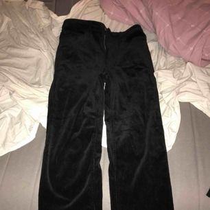 Svarta Manchester byxor från hm jätte fina storlek s