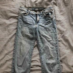 Säljer mina tajta jeans från bikbok😋 fint skick!