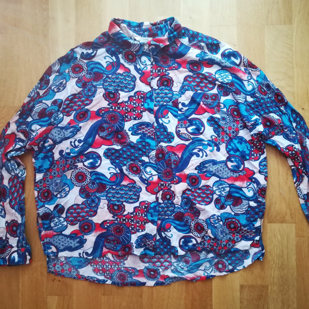 Vintage hippie-style shirt from Monki in size S !!! Price 50:-. Blusar.