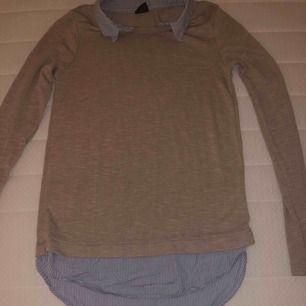 En fin tröja säljer den eftersom den är för kort för mig