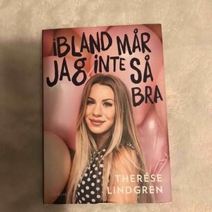 En bok skriven av Therese Lindgren 💗 köparen står för frakten!