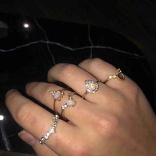 Helt nya och oanvända ringar, paketpris för flera! 5 kr frakt 💛