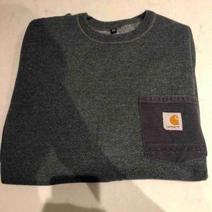 Skit skygg crewneck tröja från Carrhatt. Väldigt skönt och mjukt material på insidan. Passar S - M. Inte så använd. Kunden står för frakten :)