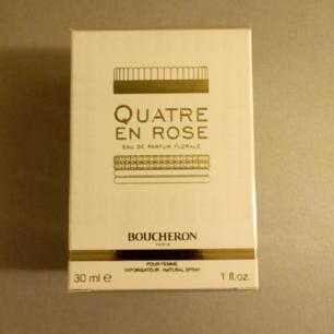 Oöppnad eau de parfum fr Boucheron, 30ml.