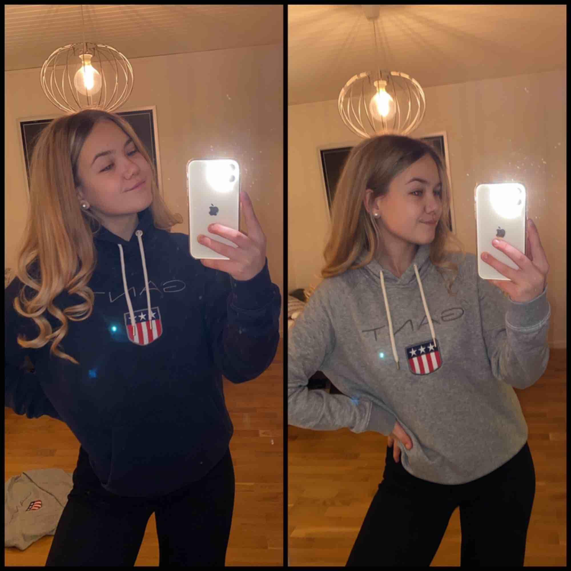 Två Gant hoodies köpa i Gant butik. Nyskick. En för 300kr eller båda för 550kr!!! (Kan skicka med påse om det önskas). Huvtröjor & Träningströjor.
