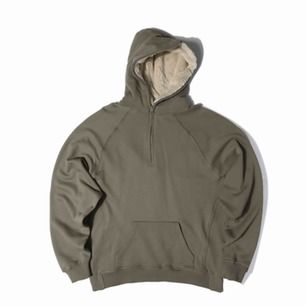 Fear of god 4th collection drop Olive sherpa hoody Oversized