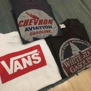 Alla t-shirts är nästan oanvända, betalning sker via swish och köpare står för ev frakt!📦🚚