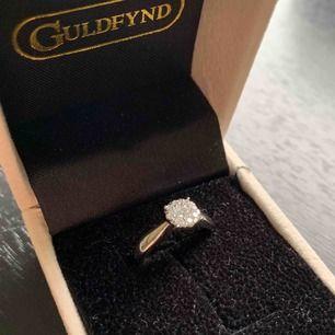 Oanvänd vitguld 18 k pris idag hos guldfynd 8998 finns fler bild och kvitto finns.