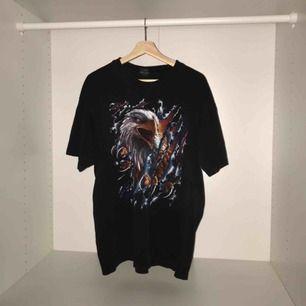 Vintage amerikansk t shirt Storlek XL väldigt boxy fit, skit snygg oversized