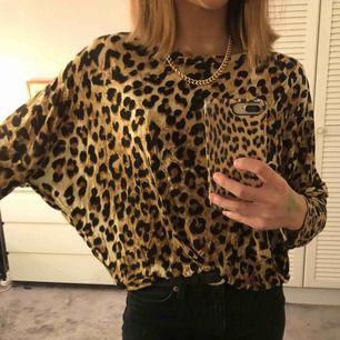 En leopardmönstrad tröja från Lager 157🥰