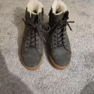 Vinter skor med foder i, storlek 38, snygga, frakt i priset
