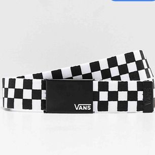 Ett vans checkered belt! Så coolt och vem som helst kan använda det, storleken går att ändra hur man vil💓✌🏼