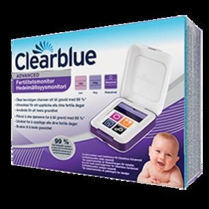 Clearblue Advanced fertilitetsmonitorär den enda monitor som spårar och lagrar information om fertilitet och graviditet.  Aldrig använd ligger i oöppnad förpackning!!