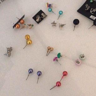 massa smycken! örhängen, halsband, ringar o armband allt för 17kr + 9kr frakt!!!!