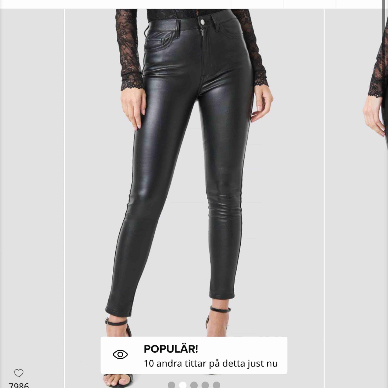 Skinn byxor från nakd aldrig använda bara provat frakt 63kr . Jeans & Byxor.