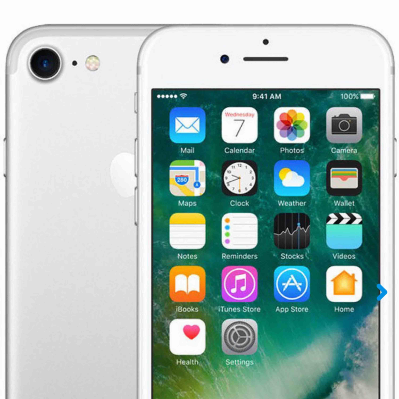 Begagnad men i nu skick iPhone 7 128gb original kartong och laddare följer med nya . Övrigt.