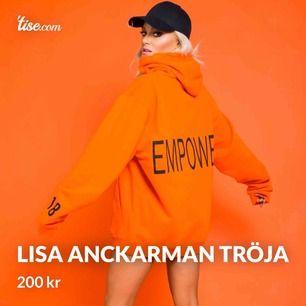 Lisa Anckarman x madlady hoodie, storlek M, oversized