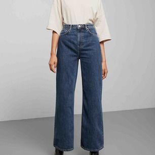 Säljer ett par Jeans från Weekday i modellen Ace som jag köpte men tyvärr va dem förstora. Använda 1 gång. Frakt tillkommer