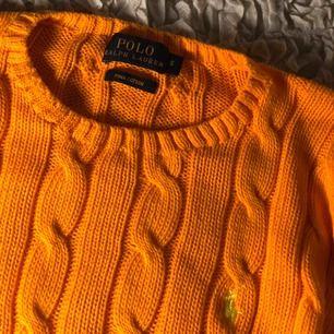 Polo Ralph Lauren  Orange stickad tröja Storlek S