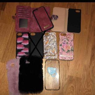 Många fina skal som jag säljer de är till iPhone 7och 8 Pris kan diskuteras☺️