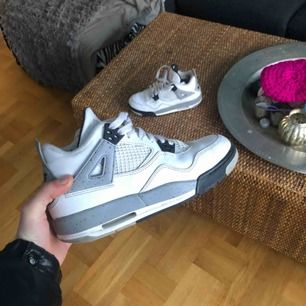 Jordan 4, white cements, bra skick