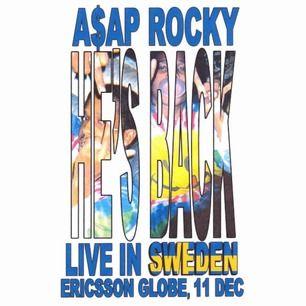 Säljer 2st Golden Circle biljetter till Asap rocky i globen! Pris kan diskuteras vid snabb affär!