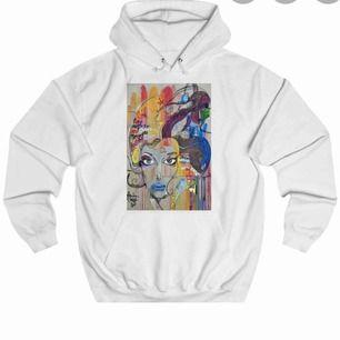 """Säljer min hoodie """"Painted woman"""" från Thecoolelephant pga ingen användning. Använd ett fåtal ggr och det finns inga fläckar. Möts upp i centrala Stockholm+ tar emot endast swish. ( Fler bilder kan skickas!)"""