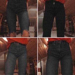Jätte fina Molly jeans från Gina!🥰XS på alla och 360 för alla+ ett par svarta samma byxor till!!! Köparen står för frakt💓
